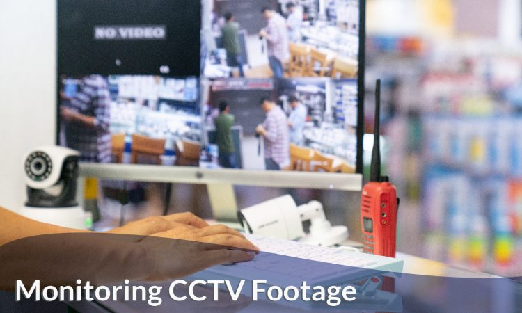 Monitoring CCTV cameras footage in Singapore