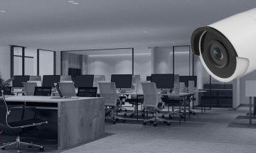CCTV Surveillance System in Business Compound