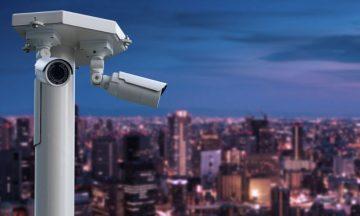 City Night Vision CCTV Camera